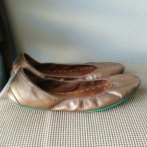 Tieks Brown Leather Shoes